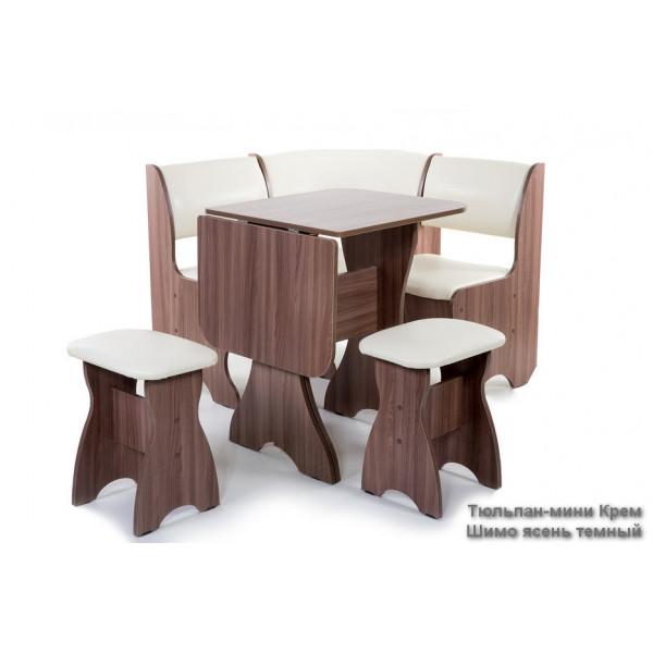 Набор мебели для кухни Тюльпан Мини Однотонный