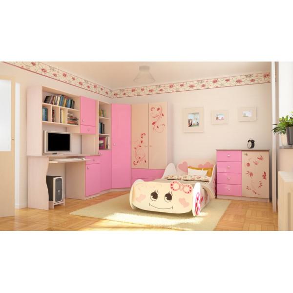 Детская Бемби розовая
